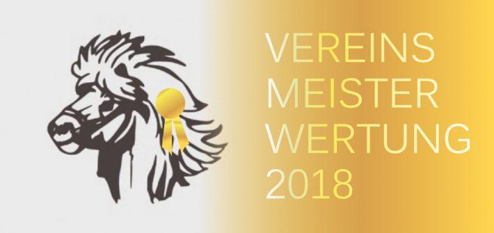 Vereinsmeisterwertung 2018 IPZV-Nordbayern
